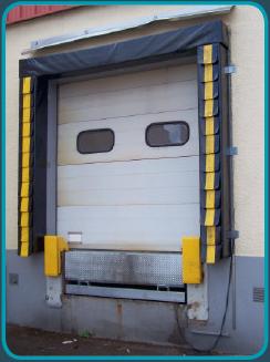 système d'étanchéité à quai bourrelet frigo