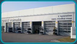 Porte sectionale aluminium compensée Rhône Alpes, Bourgogne, Franche Comté