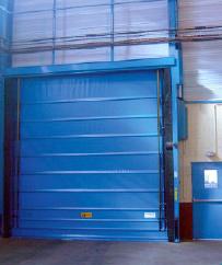 Installateur de porte souple industrielle