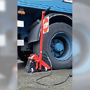cale roue manuelle