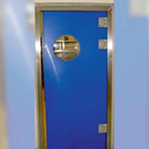 Installation porte de service, porte de secours