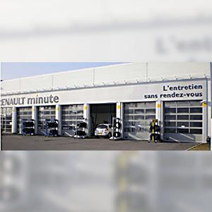 installation de porte sectionale aluminium compensee
