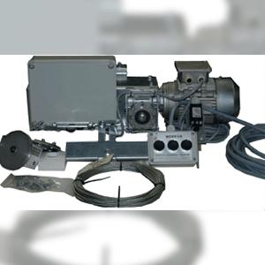 porte coupe-feu avec système d'assistance d'ouverture