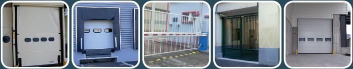 Installation et maintenance de Porte industrielle de quai