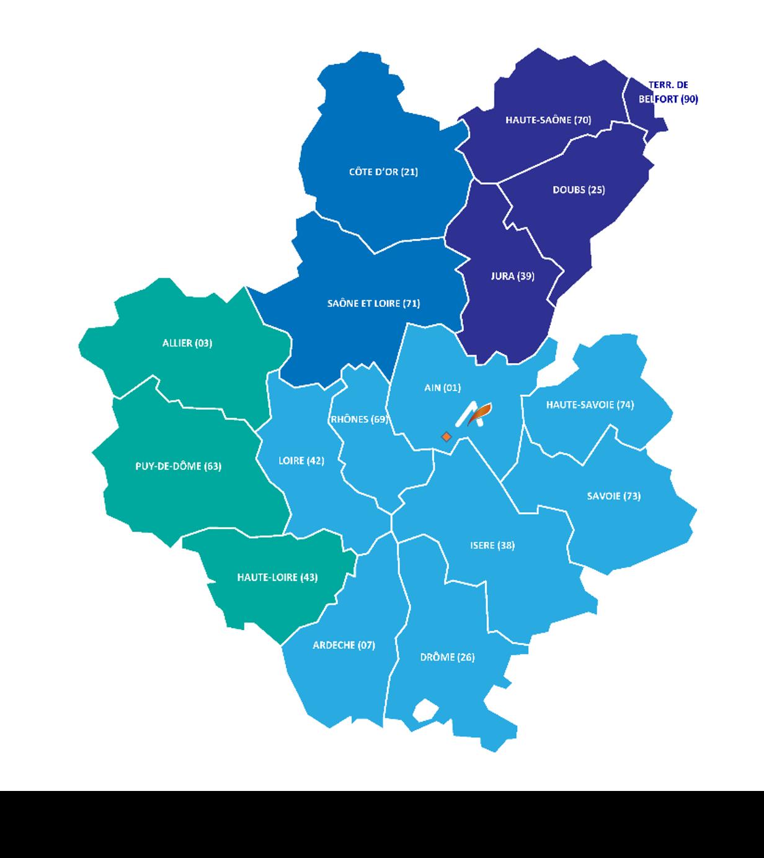 Installation et dépannage de porte industrielle Rhône Alpes, Franche Comté, Bourgogne, Auvergne